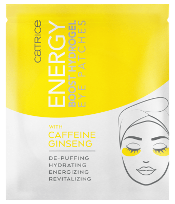 4059729329943 Catrice Energy Boost Hydrogel Eye Patches Image Front View Closed png - CATRICE HERFST/WINTER UPDATE 2021