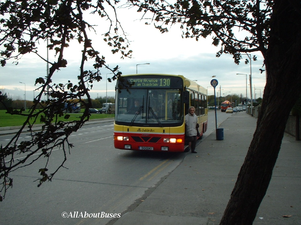 One of my favourite shots, WV43 seen through the trees on the Clontarf Road in 2002