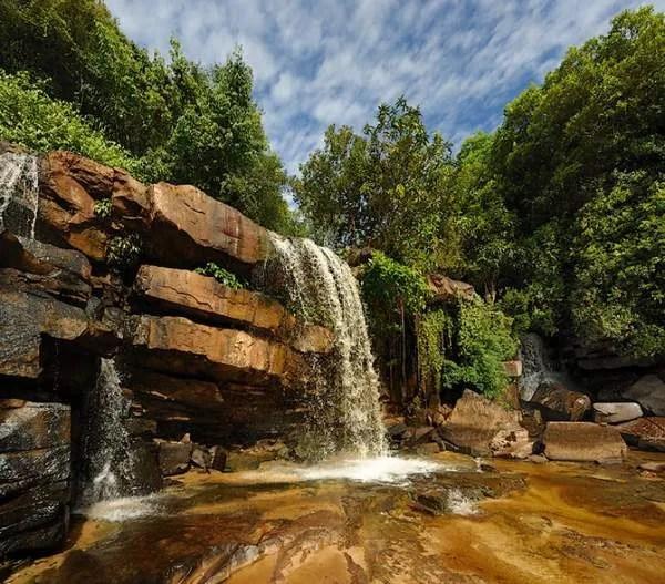 Бокор, водопад