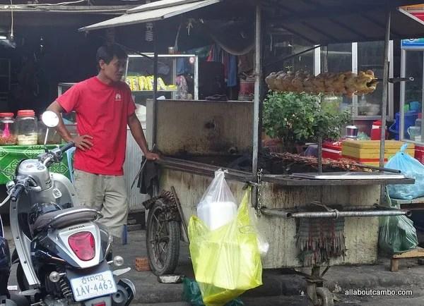 бизнес кафе в камбодже