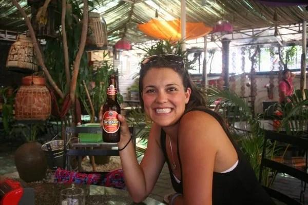 Пиво в Камбодже Ангкор
