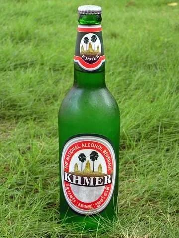 Пиво в Камбодже khmer