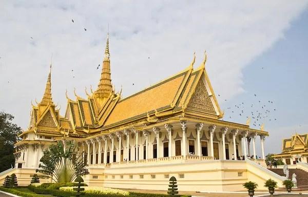 17-королевский дворец Пномпень