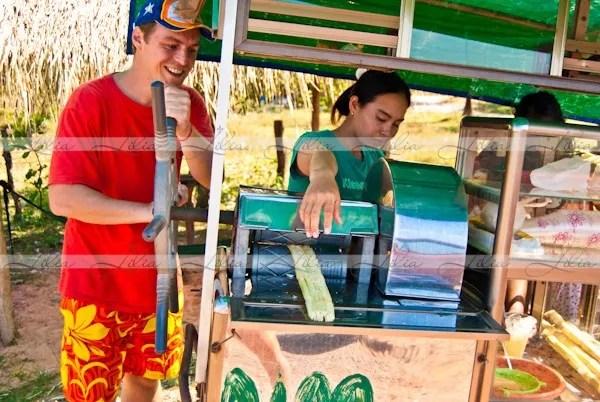 вкусные напитки в камбодже трасниковый сок