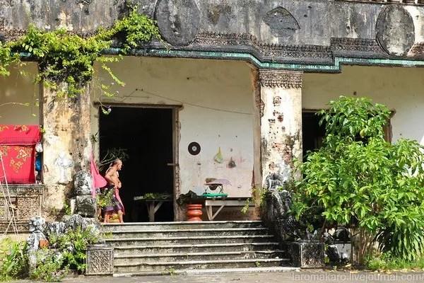 колониальные виллы в Камбодже