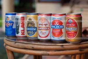 пиво в Камбодже