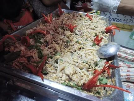 морепродукты в Камбодже