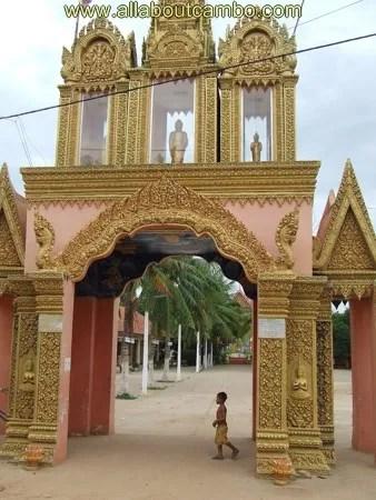 вход в храм, камбоджа