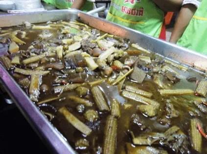 выставка еды в камбодже
