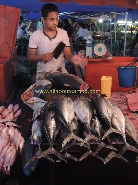 как готовят рыбу на борнео
