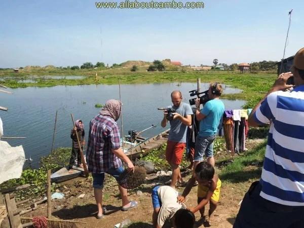 приезжие в камбодже
