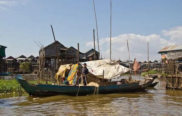 деревни на воде