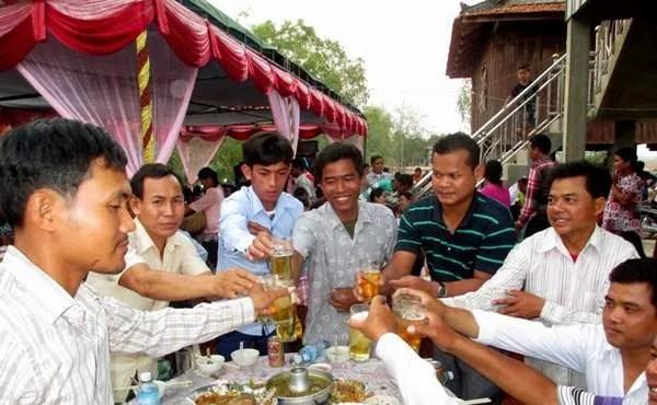 барбекю в Камбодже