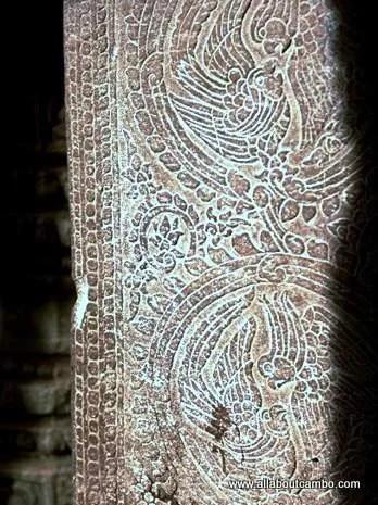 Барельефы Ангкора
