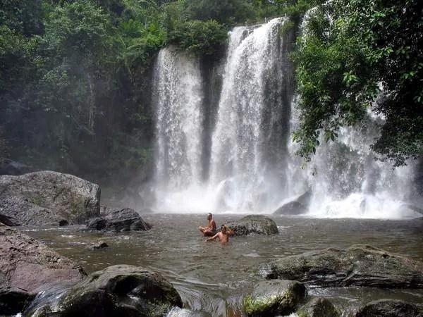17-Водопад Пном Кулен