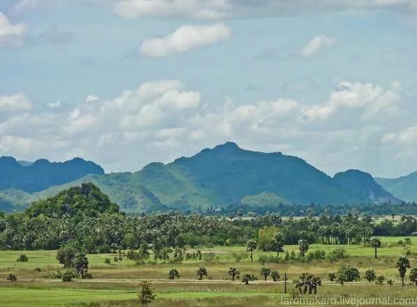 горы в Камбодже