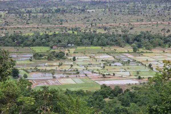 вид с горы Пном бок