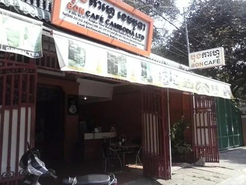 где попить хороший кофе в Пномпене