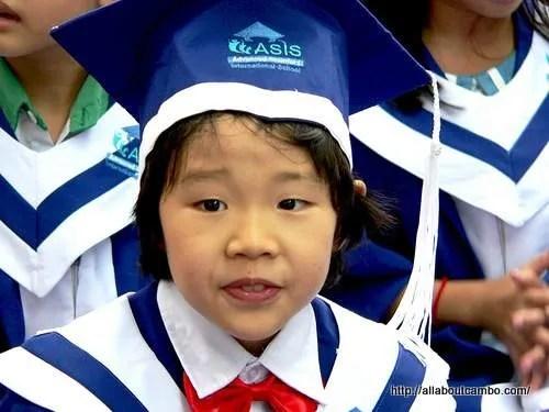 Школа. Камбоджа. Первый класс