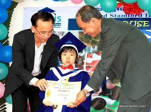 обучение ребенка в Камбодже