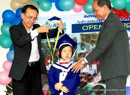обучение ребенка в школе Камбоджи