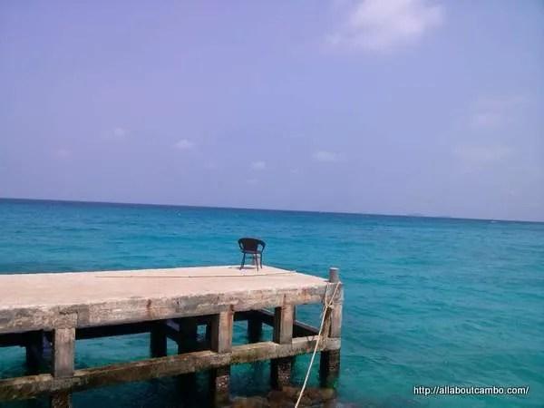 синяя вода Кох Дамлонг