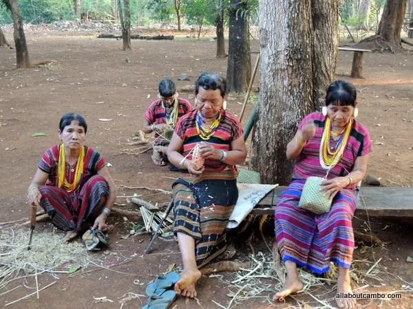этнические деревни Лаос