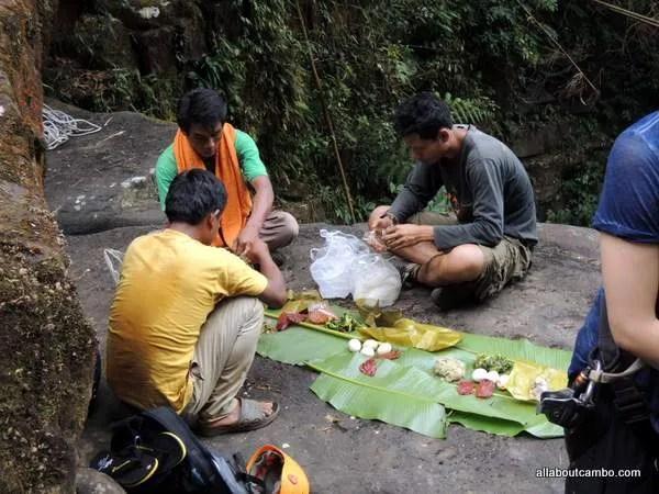 пикник в джунглях