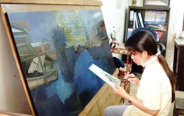 художники в камбодже