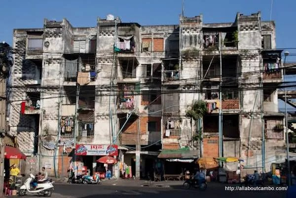 архитектура Камбоджи