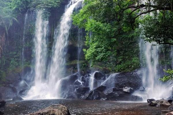 водопады в камбодже