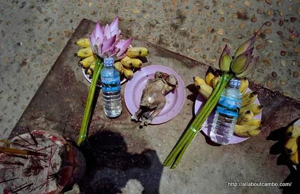 жертвоприношение в камбодже