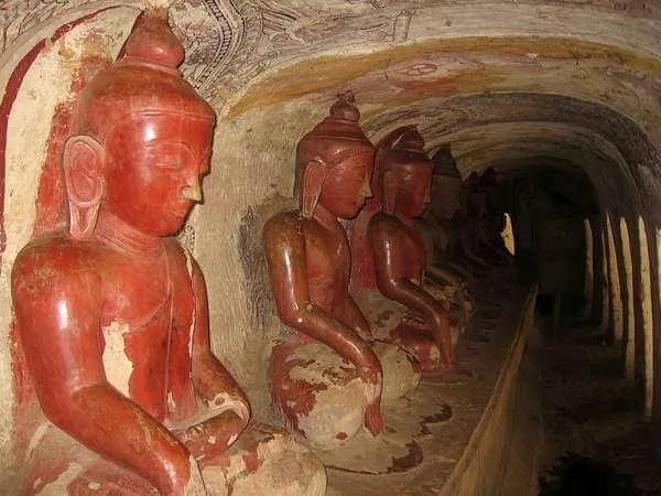 таинственные пещеры мьянма