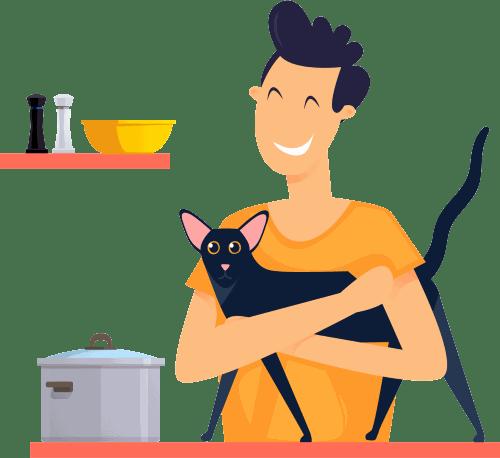 Preparando comida para gatos: Explicación de las dietas, de comida casera y cruda para