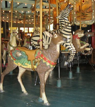 Carousel  deer  All About Cocoa