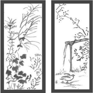 japanese drawings landscape draw allaboutdrawings