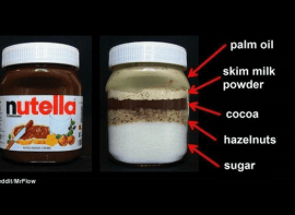 Revealed: The Amount Of Sugar In A Jar Of Nutella Will Shock You