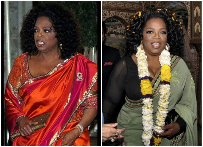 foreign celebrities in Indian attires