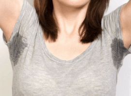 home remedies for sweaty underarms