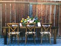 Farmhouse Table - 8' x 4' - All About Events
