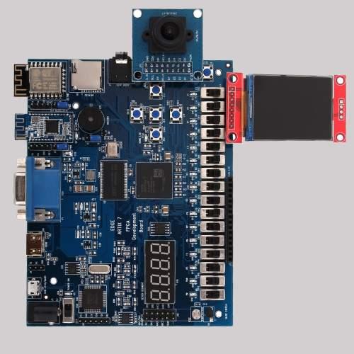 small resolution of edge artix 7 fpga development board 2