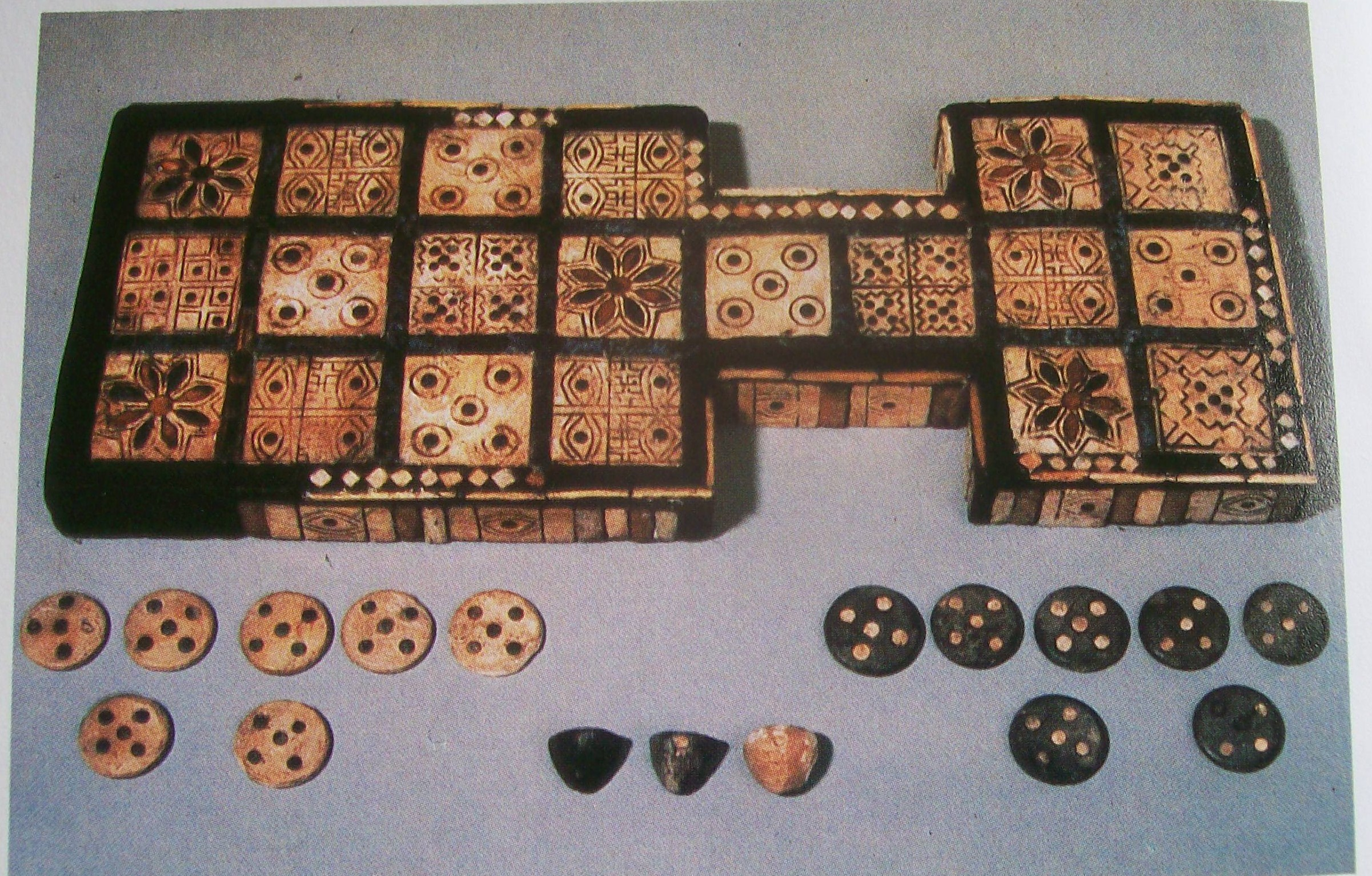 One of the Oldest Board Games The Royal Game of Ur  All