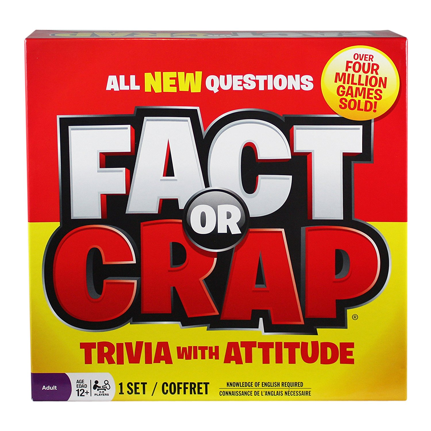 Get The Party Games Started With The Fact Or Crap Board