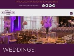Sugarhouse Casino Wedding Venue