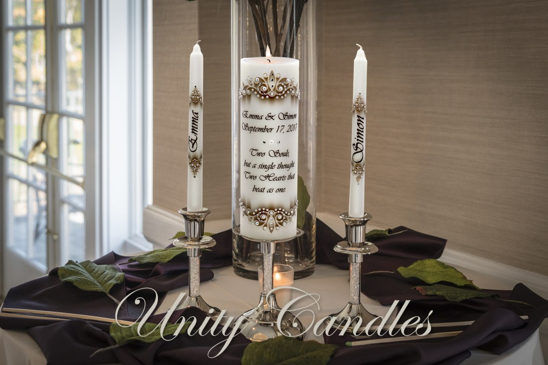 Luxury Unity Wedding Candles from Decorative Candle Art Shop