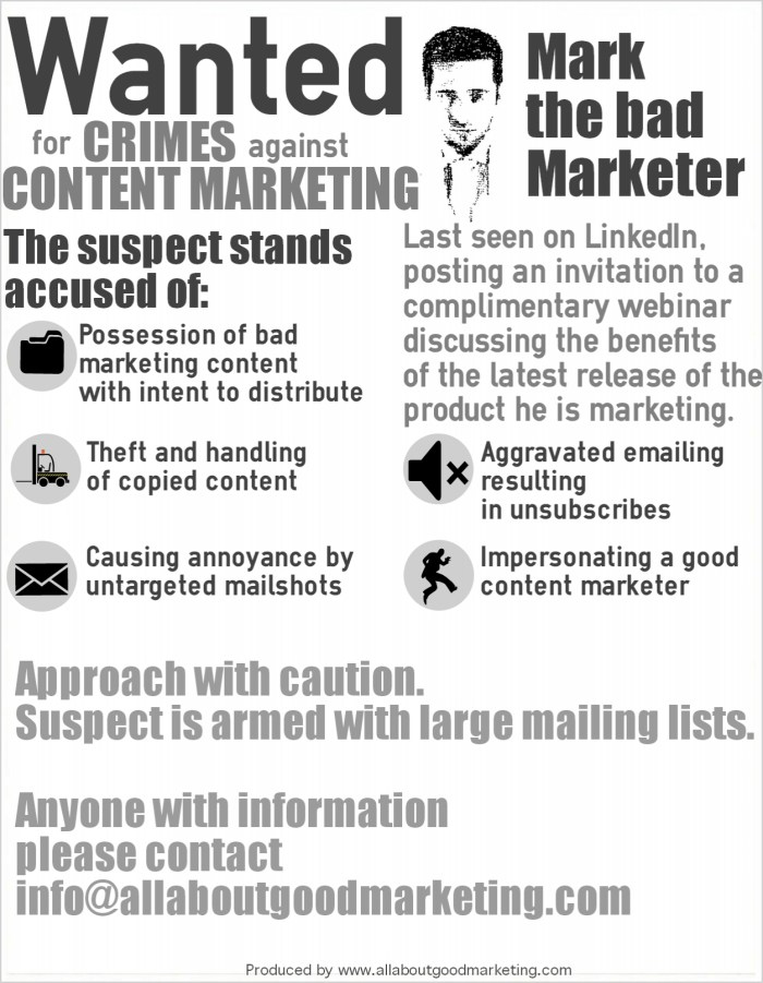 crimes against content marketing
