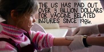 Vaccine injuries 3 billion Bought Movie altered