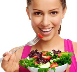 woman-eating-salad-462x428