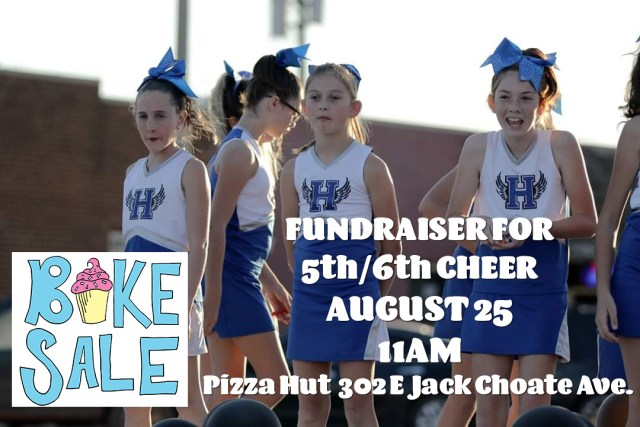 fundraiser for 5th/6th grade cheer