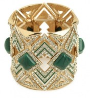 Jade , gold and diamonds bracelet